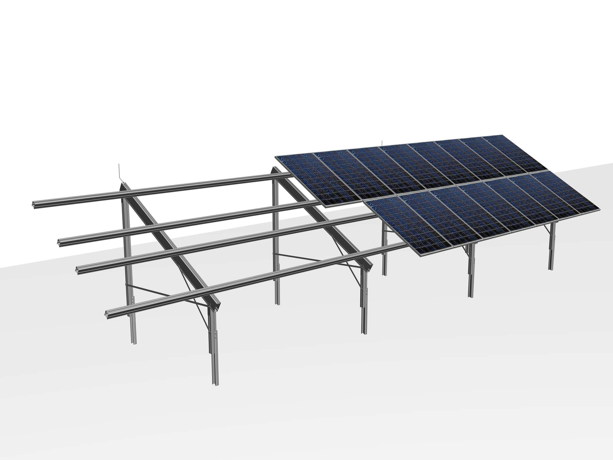The Mounting Systems For Free Standing Setup Are Suitable