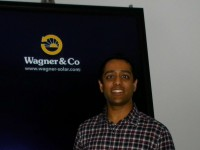 Kamil Shah as UK Marketing Manager for Wagner Solar UK